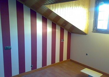 Trabajos de pintura de interior