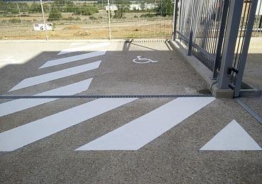 Marcaje de aparcamientos